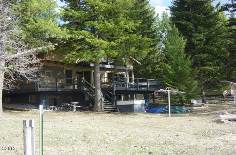 Crystal Lake Cabin (SOLD), 458 Lake Shore Dr.-- US Highway 2 - 50 Miles West of Kalispell