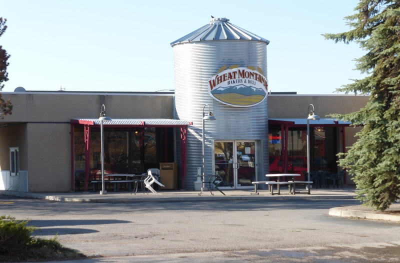 Wheat Montana-405 S. Main Street Kalispell Mt., corner of 4th ave. and main across from new Kalispell Brewery